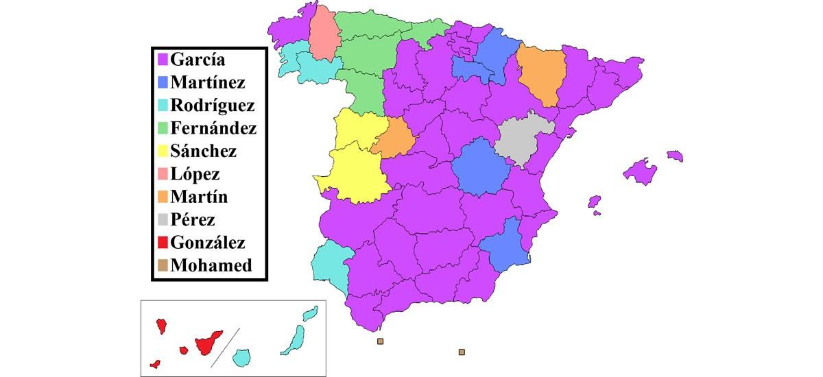 Apellidos en España